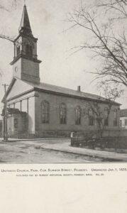 unitarian church park st