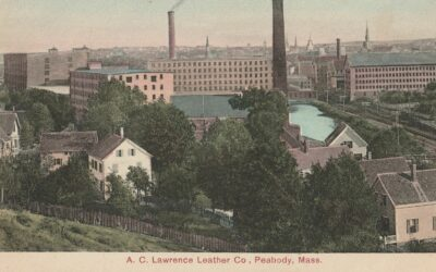 How far back does Peabody's leather history go?