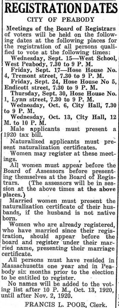 Peabody_Enterprise_1916-1921_Womens Reg to Vote